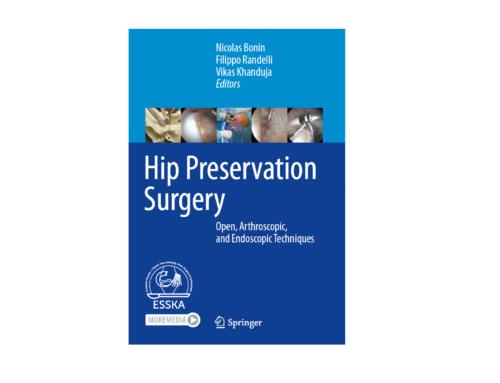 Νέο επιστημονικό σύγγραμα για την ανοικτή και αρθροσκοπική χειρουργική του ισχίου